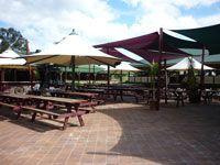 Our beautiful beer garden!