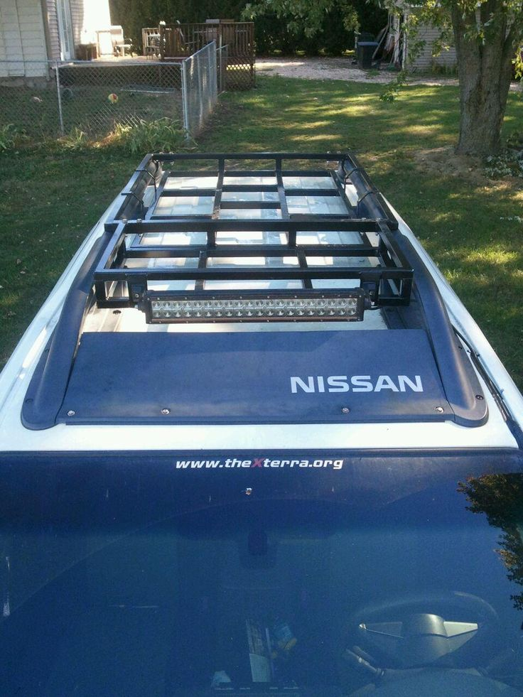 Diy Roof Rack Nissan Xterra Pinterest More Roof Rack