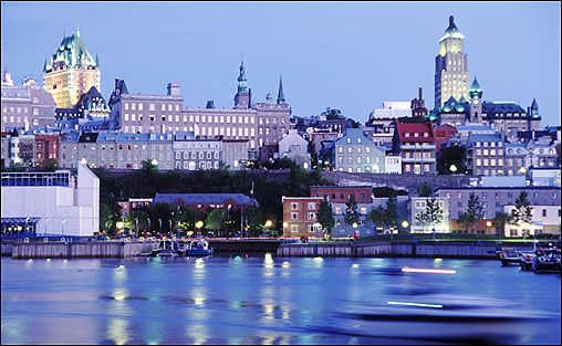 Quebec City, Quebec.