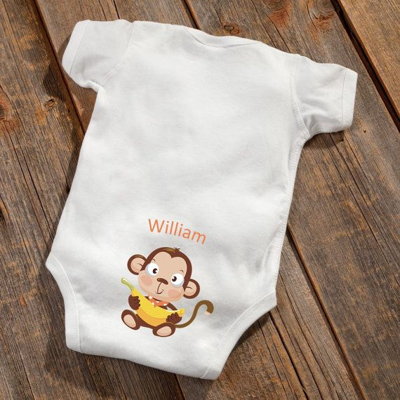 The 25 best personalised baby gifts canada ideas on pinterest personalized baby boy booty onsie personalized by vinylexpress101 negle Image collections