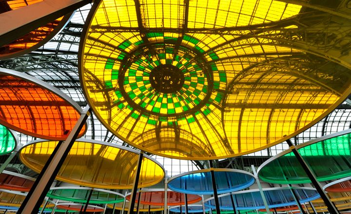 'Excentrique(s)' by Daniel Buren for Monumenta at the Grand Palais, Paris