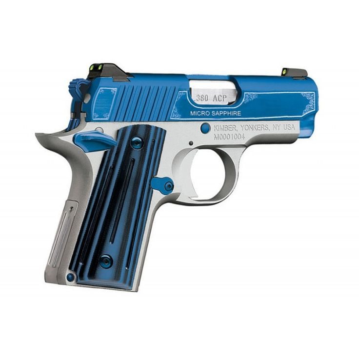 Kimber Micro Special Edition Sapphire .380 ACP Subcompact Pistol 3300090