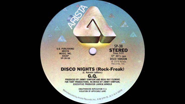 G.Q. - Disco Nights (Rock-Freak) Disco Version (Arista Records 1979)