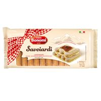 "Known in Italy as ""Savoiardi"", ladyfingers are sweet, fairly dry, finger-shaped sponge cakes. Ladyfingers are often used in making the classic Italian Tiramisu, or enjoying with a cup of your favourite coffee or tea."