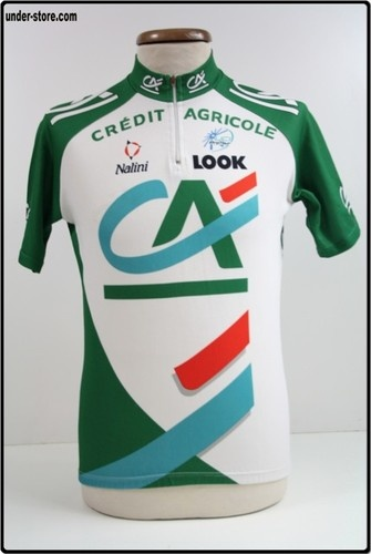 MAILLOT CYCLISME EQUIPE CRÉDIT AGRICOLE CYCLE rfFOOT970