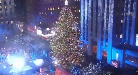 NBC christmas tree christmas in rockefeller center rockcenterxmas