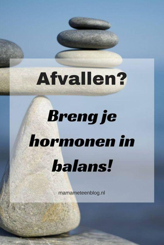 hormonen afvallen voeding
