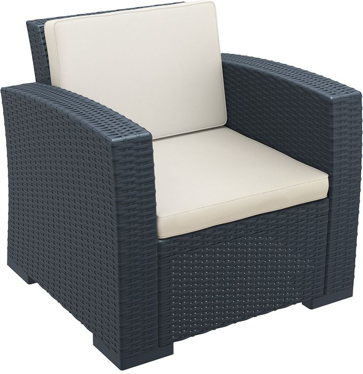 Monaco Lounge Armchair With Cushions