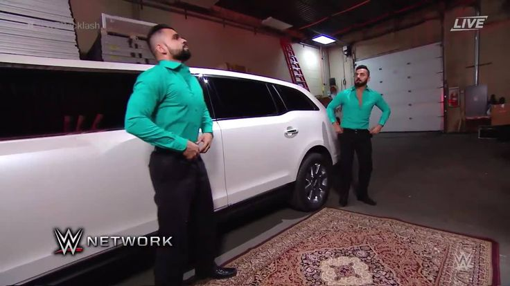 Jinder Mahal rolls up in style at WWE Backlash, now on WWE Network!!!!...
