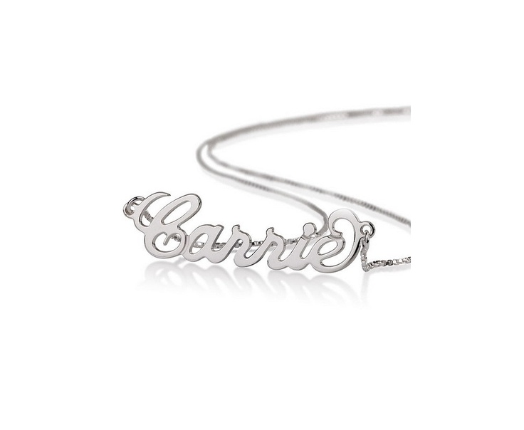 Personalised Name Necklace 925 Sterling only £45! Get something personal this Christmas #gifts #fashion