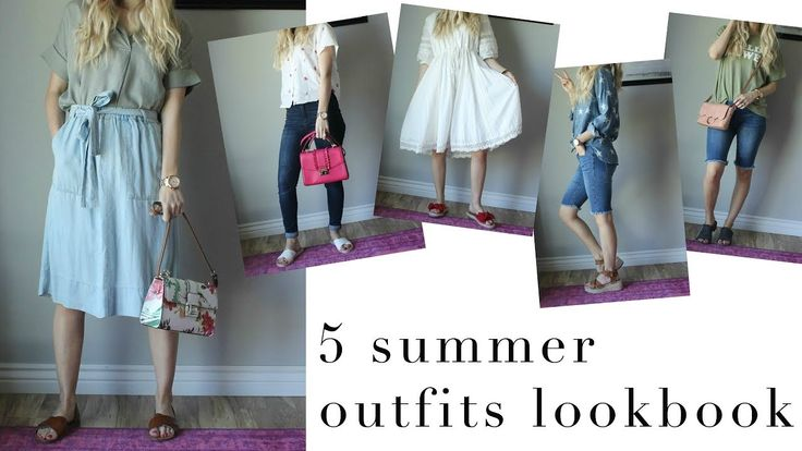 FASHION || 5 summer outfits lookbook summer style, outfit lookbook, styling berm…