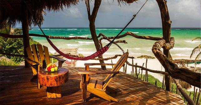 Tulum Beach Huts Cheap