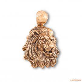 """Золотая подвеска """"Лев"""" от Madison\'s Jeweler\'s, из серии """"Большая африканская пятёрка"""""""