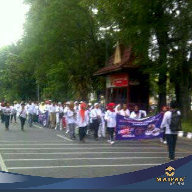 "Car Free Day ""Indonesia Sehat 2014"" Maifan Center Solo, Sragen dan Sukoharjo  #maifan #maifanindonesia #kesehatan #medis #jakarta #surakarta #bali #alam #alamiah #korea"