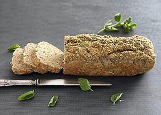 Madbrød med havreklid og oregano til Dukan-kuren er velegnet til frokost med pålæg, som tilbehør til aftensmaden og som et lille mellemmåltid.