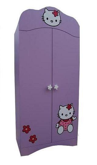 Šatní skříň Kočička- dvoudvéřová