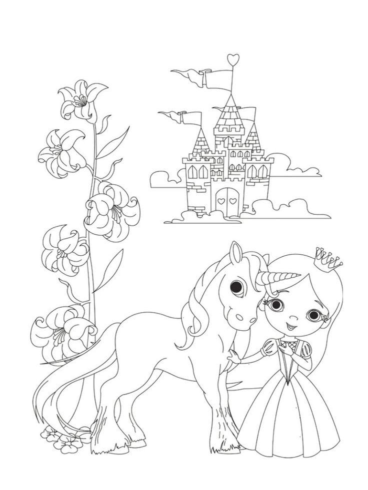 coloriage licorne kawaii en ligne gratuit imprimer avec et coloriage licorne kawaii imprimer 11 ...