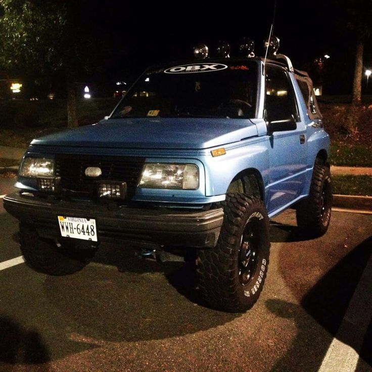 Lovely Geo Tracker..... | Jeeps/broncos/scouts,blazers,runners ...
