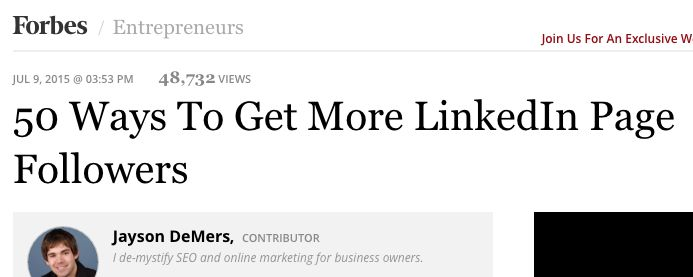 Great list of tips for Linkedin Page owners