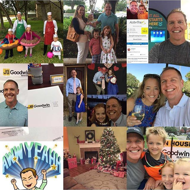 Looks like we hit most of the major holidays, and some great milestones in my new real estate career. Thank you all for your support and encouragement of me and my family this year through this and other platforms. Here's to an incredible year and an even better 2018!  #dadlife #parenting #lifewithlittles #realtorlife #SAHomesViaChris #homesweethome #ProudtobeJBG #2017bestnine #localrealtors - posted by Chris Via https://www.instagram.com/chrismvia - See more Real Estate photos from Local…