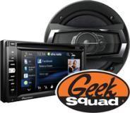 Pioneer GPS/CD/DVD In-Dash Receiver, Car Speaker, Geek Squad® Installation - Best Buy