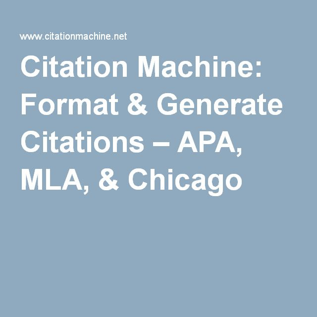 mla format son of citation