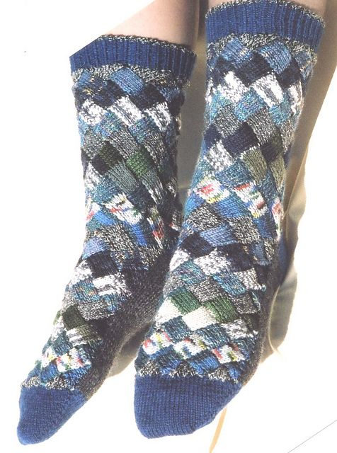 Double Knit Sock Pattern : 514 best images about Brioche, Double Knitting, Entrelac, Mosaic etc on Pinte...