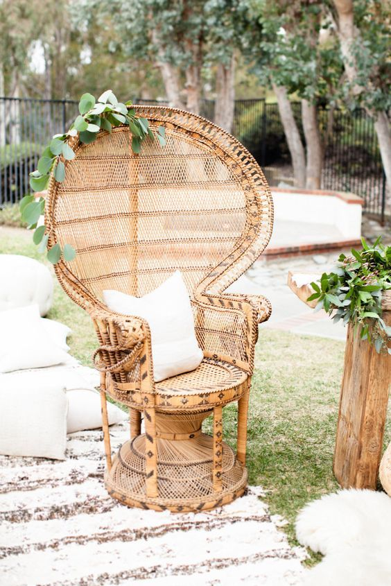 What A Beautiful Idea For Backyard Engagement Party