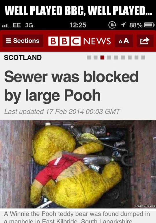 Well played, BBC…