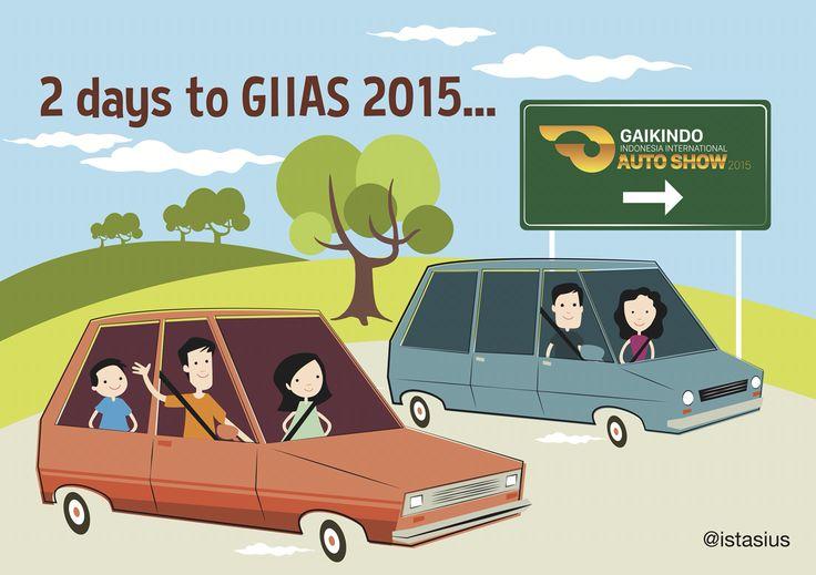 H-2 menuju serunya #GIIAS2015   #GAIKINDO #AutoShow #GIIAS2015 #ICE_BSDCITY #20_30Agustus2015 #meme #theartofautomotive