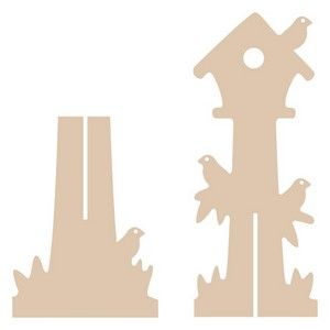 mdf but could easily altered for use with chipboard