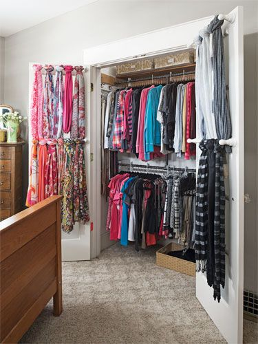 Finally turn your #closet from a disaster into a masterpiece with our experts' help. #home
