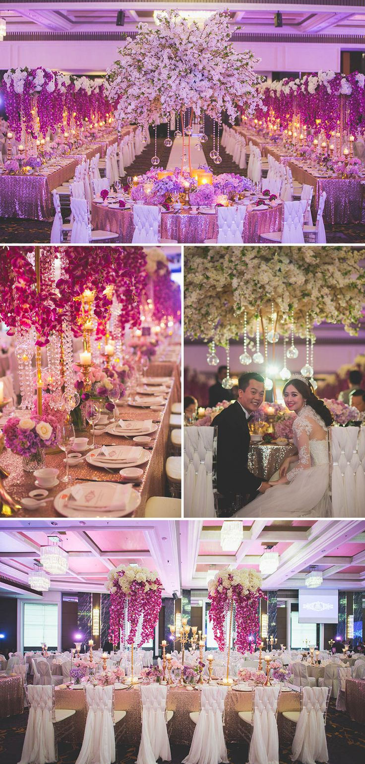 104 best purple weddings images on pinterest | purple wedding