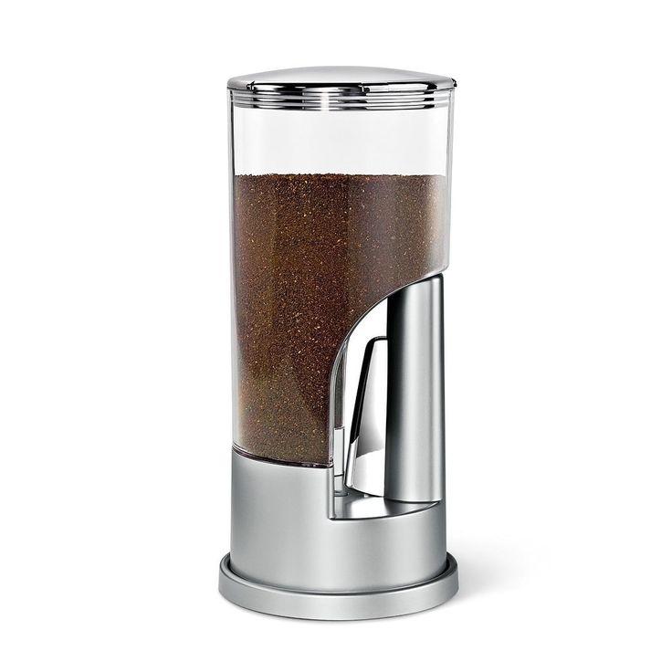 Honey-Can-Do Zervro Coffee Dispenser Silver