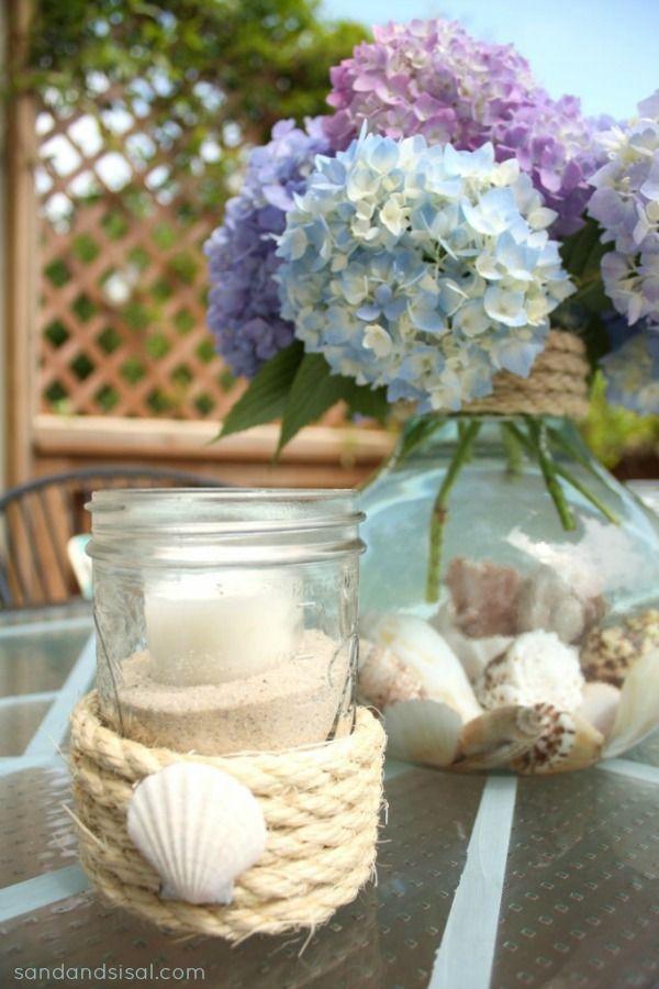 Best ideas about summer centerpieces on pinterest