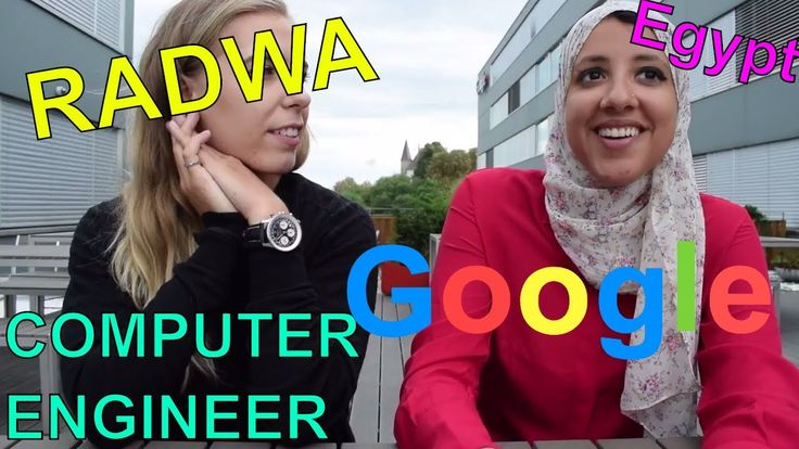 Radwa the FEMALE COMPUTER ENGINEER and GOOGLER from Egypt // Women in ST...
