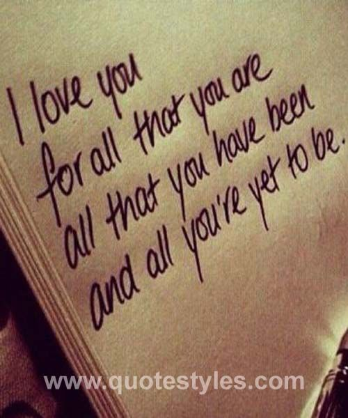 I love you- Love quotes