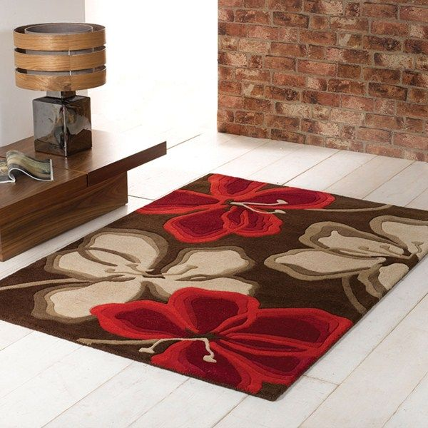 Passion Flower Rugs Are Part Of The Beautiful Wilderness Rug Collection  Featuring A Contemporary Floral Design