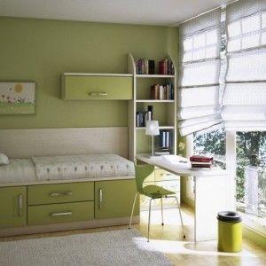 blue teen bedroom design