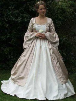 A Prom Dress Gown: Medieval Wedding Dresses