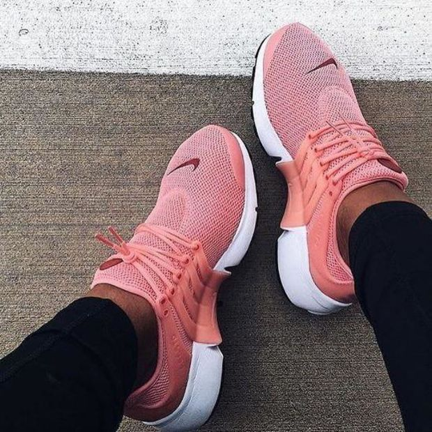"""""""NIKE"""" Air Presto Women's Fashion Running Sport Casual Shoes Sneakers (Pink-small …   – Clothes"""