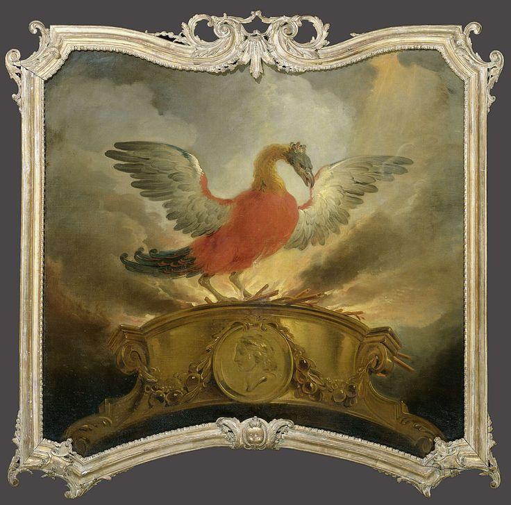 De vogel Phoenix, Cornelis Troost, 1720 - 1750