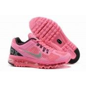 Nike Air Max 2013 Womens Running Shoe Pink/Silver/Black