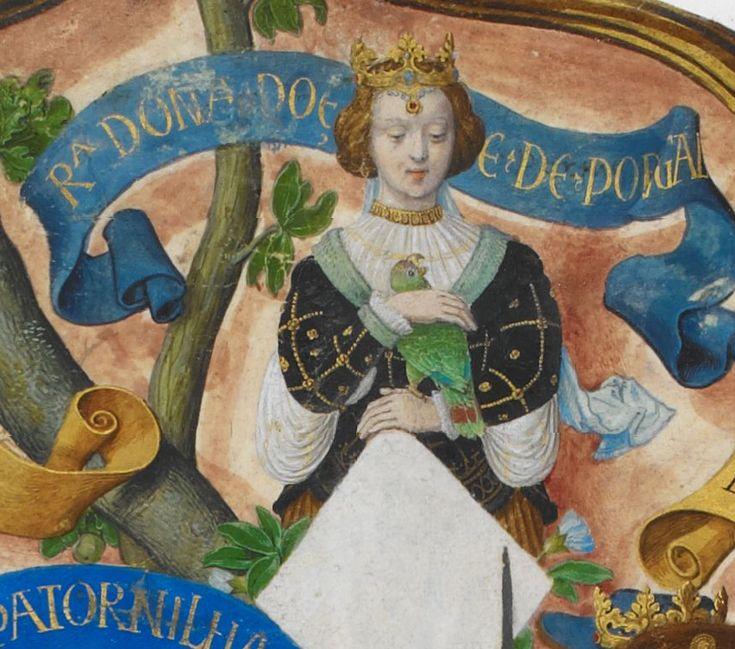 Dulce de Aragão, Rainha de Portugal -The Portuguese Genealogy (Genealogia dos Reis de Portugal)