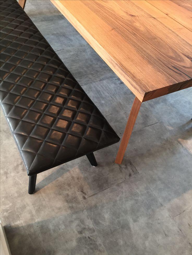 Q Bench 40x160. Alphenberg Leather