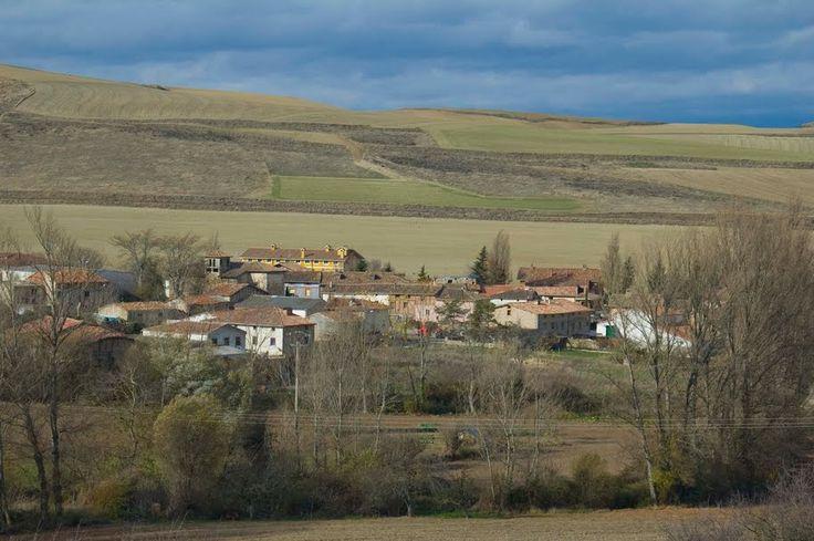 Vista de Villamayor del Río, Burgos, Camino de Santiago