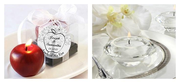 Si vas a celebrar tu boda en la noche y no has pensado en la iluminación del salón, uno de los elementos básicos para la decoración son las velas. Te damos 5 motivos por los cuales debes escogerlas para tu fiesta de matrimonio.