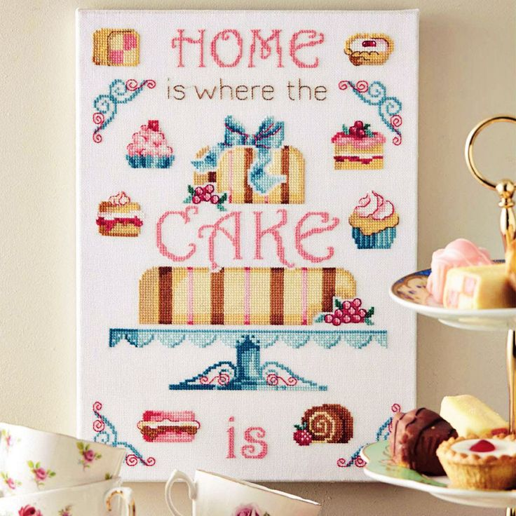 Have Your Cake - Available in CrossStitcher 281