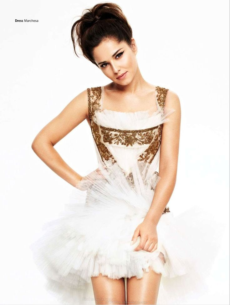 Cheryl Cole, photographer uncredited for Glamour, December 2012