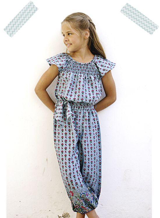 spantajaparos moda infantil Monos niña   Moda Infantil